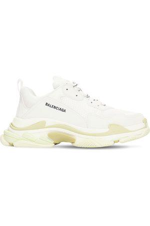 """Balenciaga Hombre Tenis - Sneakers """"triple S"""" De Ante, Piel Y Malla"""