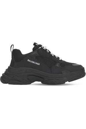 Balenciaga Sneakers Triple S De Malla Y Tejido Técnico