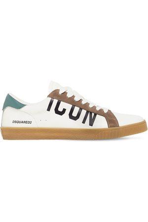 """Dsquared2 Sneakers """"boxer Icon"""" De Piel Estampado Serpiente"""