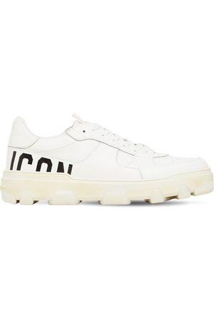"""Dsquared2 Sneakers """"basket Icon"""" De Piel"""