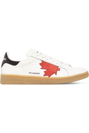 """Dsquared2 Hombre Tenis - Sneakers """"boxer"""" De Piel Con Logo"""