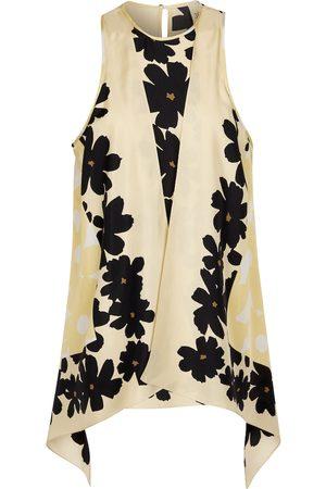 PETAR PETROV Catia floral silk top