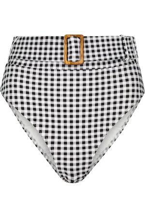 ALEXANDRA MIRO Mujer Bikinis - Exclusive to Mytheresa – Ursula gingham bikini bottoms