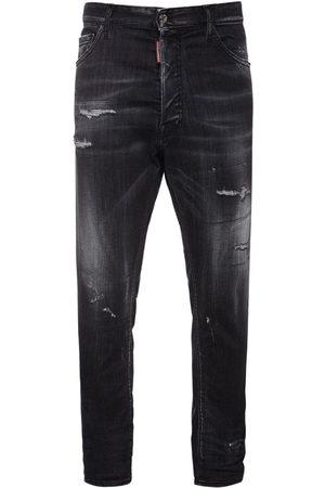 Dsquared2 Jeans Relax Fit De Denim De Algodón 16cm