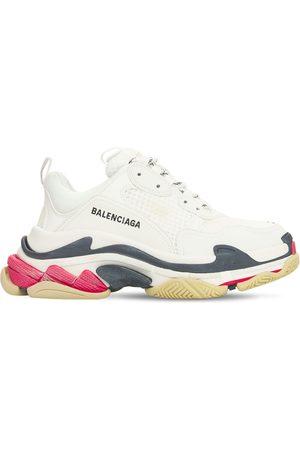 "Balenciaga Sneakers ""triple S"" De Piel Sintética 60mm"