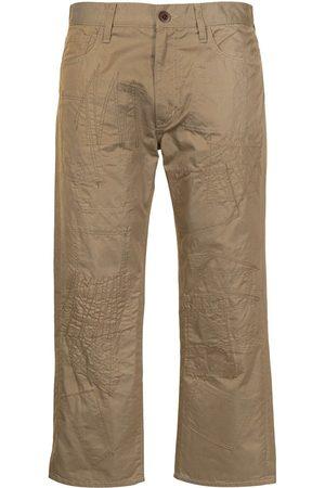 JUNYA WATANABE Hombre Chinos - Pantalones chino capri bordados