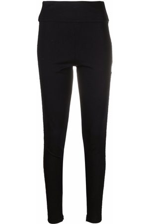 Philipp Plein Mujer Leggings y treggings - Leggins con placa del logo