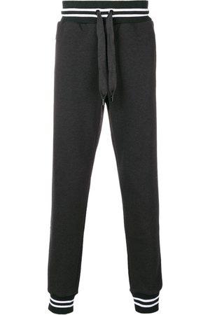 Dolce & Gabbana Hombre Joggers - Pantalones jogger con bajos elásticos