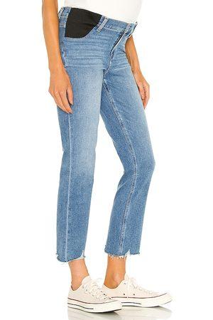 Paige Cindy maternity jean with elastic waistband en color azul talla 24 en - Blue. Talla 24 (también en 25, 26, 27, 28, 29, 30).