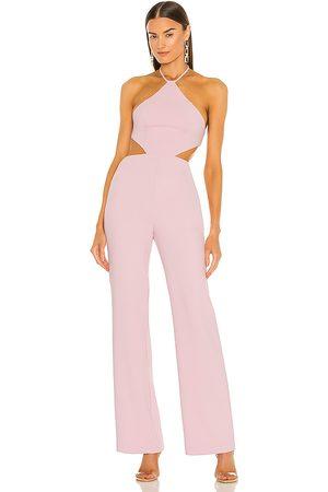 NBD Ronan jumpsuit en color rosado talla L en - Pink. Talla L (también en XXS, XS, S, M, XL).