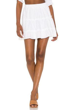Show Me Your Mumu Minifalda devon en color blanco talla L en - White. Talla L (también en S, XS, M).