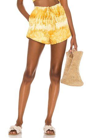 House of Harlow X sofia richie alyssa short en color amarillo talla L en - Yellow. Talla L (también en XXS, X