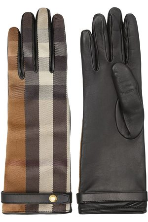 Burberry Mujer Guantes - Guantes a cuadros