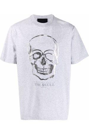 Philipp Plein Hombre Playeras - Playera con motivo Skull