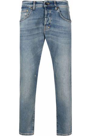PRPS Jeans rectos con efecto lavado