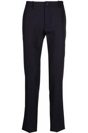 Incotex Hombre De vestir - Pantalones rectos con tiro medio