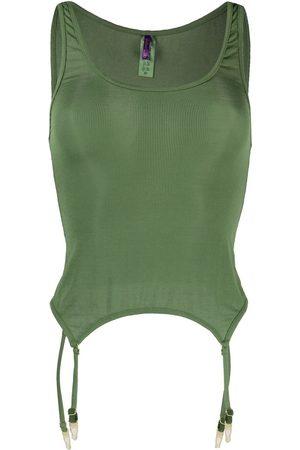 MAISON CLOSE Mujer Camisones - Camisón tejido de canalé