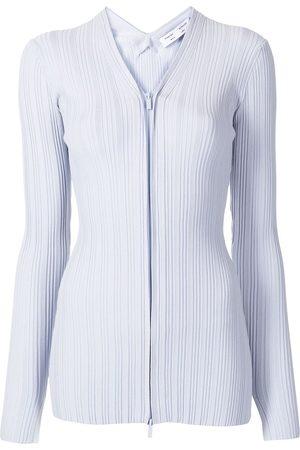 PROENZA SCHOULER WHITE LABEL Mujer Abrigos - Abrigo de canalé con cierre