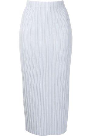 PROENZA SCHOULER WHITE LABEL Mujer Faldas - Falda tejida de canalé