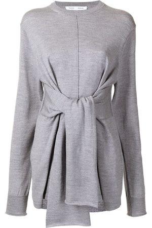 PROENZA SCHOULER WHITE LABEL Mujer Suéteres - Suéter con detalle de lazo