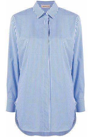 BLANCA Mujer Camisas - Camisa con estampado de rayas