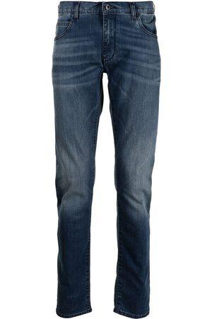 Emporio Armani Jeans rectos con efecto lavado