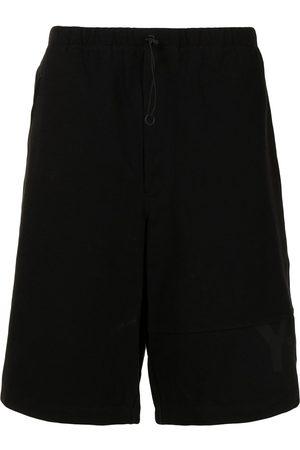 Y-3 Shorts con cordones en la pretina