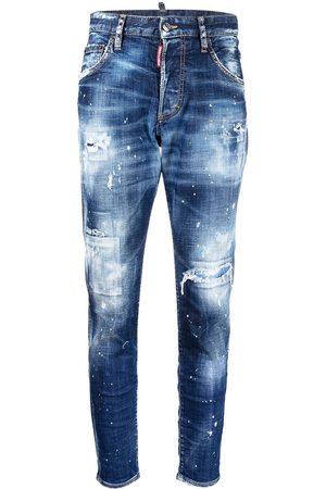 Dsquared2 Mujer Skinny - Jeans con efecto envejecido