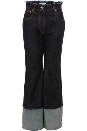 J.W.Anderson FLARED RAW EDGE JEANS