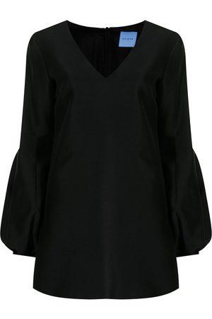 Macgraw Mujer Vestidos de noche - Vestido con cuello en V