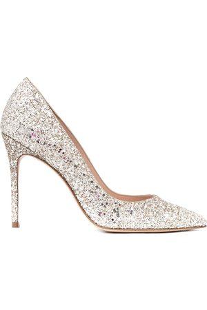 SOPHIA WEBSTER Mujer Tacones - Zapatillas con detalles de glitter