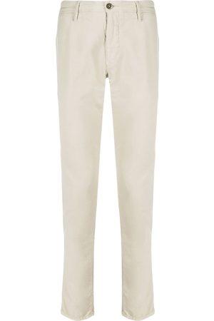 Incotex Hombre Chinos - Pantalones tipo chino de tiro bajo
