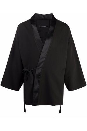 Alchemy Suéteres abiertos - Kimono con ribetes de satén