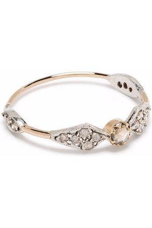 Pascale Monvoisin Anillo Adèle N°1 en oro de 9kt y plata de ley con diamantes