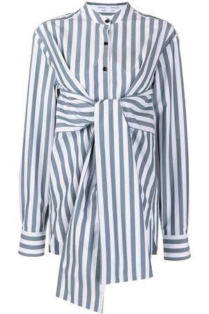 PROENZA SCHOULER WHITE LABEL Mujer Camisas - Camisa con lazo en la cintura
