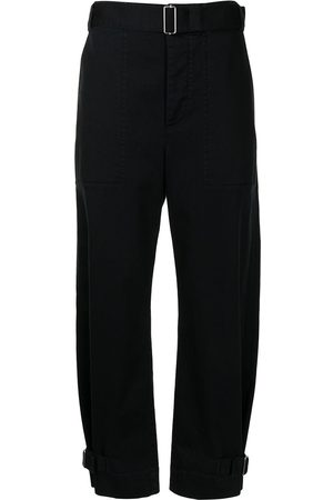 PROENZA SCHOULER WHITE LABEL Pantalones tapered con cinturón