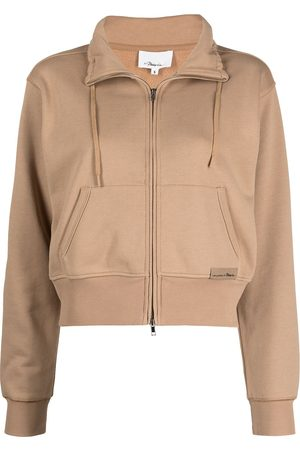 3.1 Phillip Lim Mujer Abrigos y Chamarras - DONT SWEAT IT TERRY ZIP-UP