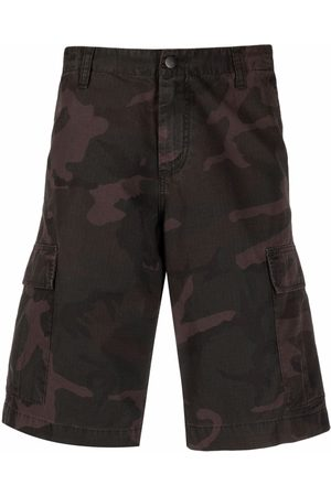 Carhartt Hombre Shorts - Camouflage-print shorts
