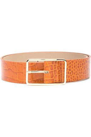 B-Low The Belt Mujer Cinturones - Milla crocodile-effect leather belt