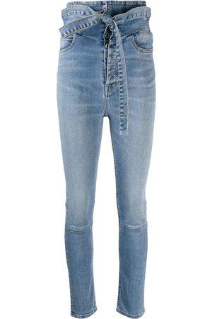 Unravel Project Skinny jeans con tiro alto