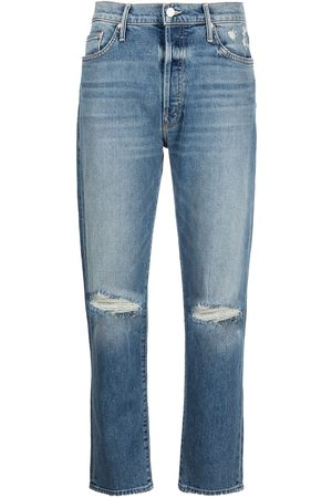 Mother The Trickster Ankle straight jeans