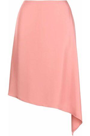 THEORY Mujer Faldas - Falda con dobladillo asimétrico