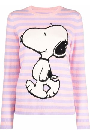 Chinti And Parker Mujer Suéteres - Snoopy intarsia-knit cashmere sweater
