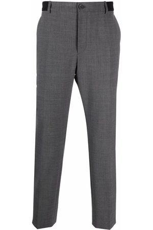 Karl Lagerfeld Pantalones de vestir con logo en la pretina