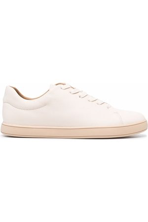 12 STOREEZ Mujer Tenis - Leather lace-up trainers