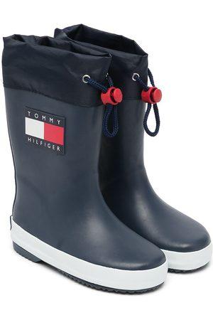 Tommy Hilfiger Niño Botas y Botines - Logo-patch wellington boots