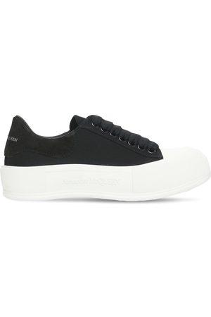 Alexander McQueen Mujer Tenis - Sneakers Deck Plimsoll De Lona 45mm