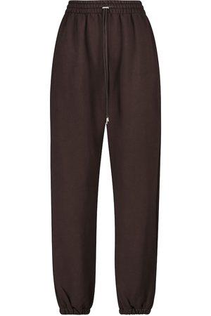 Frankie Shop Vanessa cotton jersey sweatpants