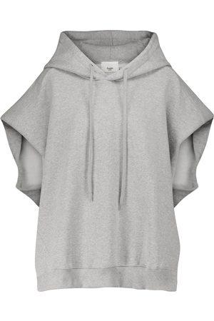 Frankie Shop Alix cotton jersey hoodie