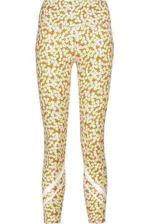Tory Sport Floral high-rise leggings